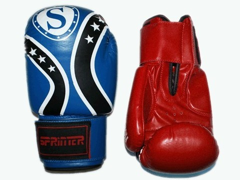 Перчатки бокс SPRINTER FIGHT STAR . Размер-вес 8