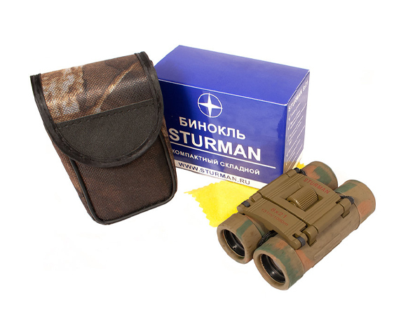 Бинокль Sturman 8x21 камуфляж - фото 5