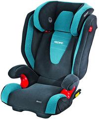 Детское кресло RECARO Monza Seatfix (материал верха Topline Microfibre Grey/Petrol)