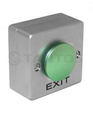 Кнопка выхода TS-CLACK green , накладная металлическая