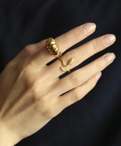 Кольцо Snake