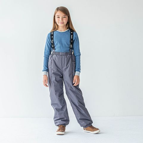 Winter membrane trousers for teens - Graphite
