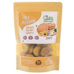 Савита эко печенье «Имбирь, кунжут, абрикос»  280 г