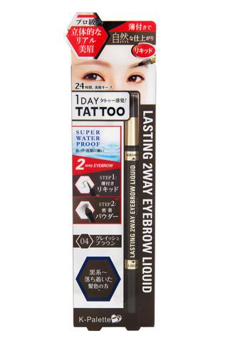 Tattoo карандаш/лайнер для бровей K-Palette