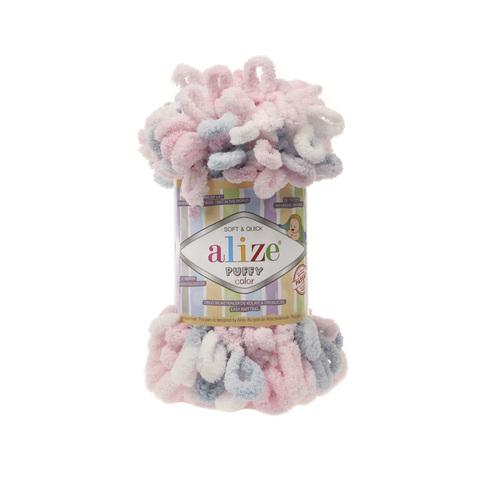 Купить Пряжа Alize Puffy Color Код цвета 5864 | Интернет-магазин пряжи «Пряха»