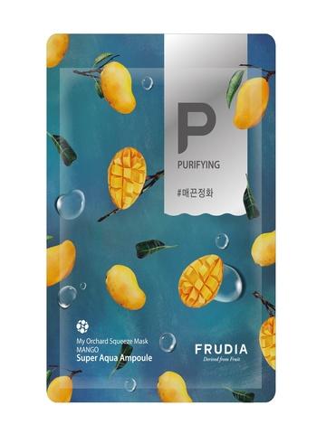 FRUDIA Смягчающая маска с манго Фрудиа, 1 шт