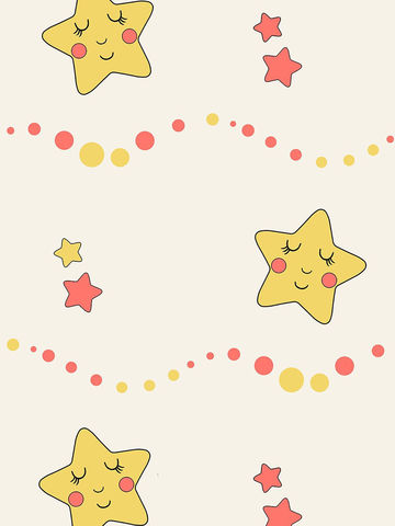 Простынь  -Летние звезды- 240х215 см евро