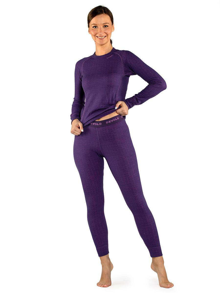 Devold термобелье брюки Duo Active Woman Long Johns Galaxy