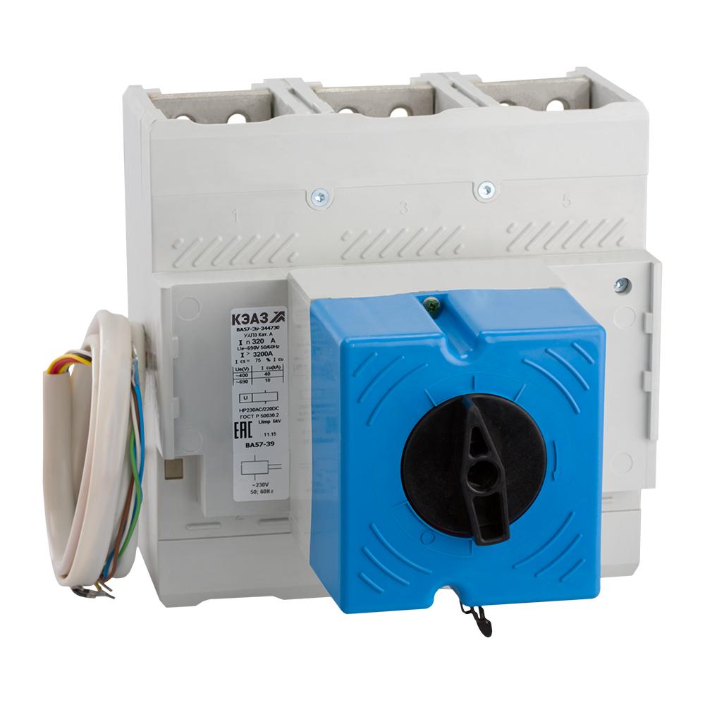 Автоматический выключатель ВА57-39-341830-230-4000-230 400А