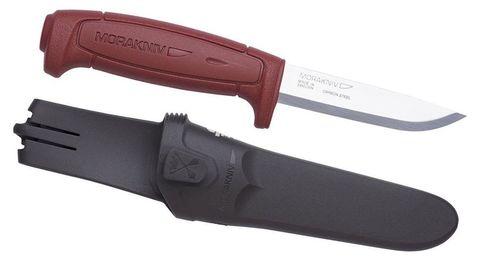 Нож перочинный Mora Basic 511 (12147) 206мм бордовый