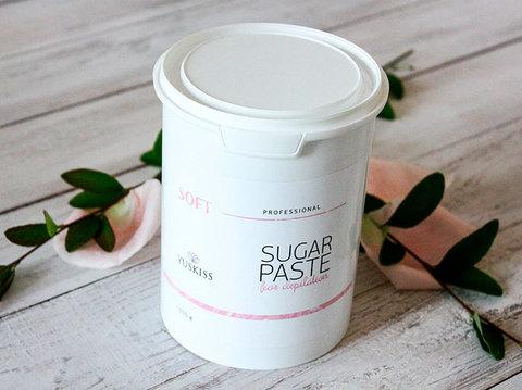 Сахарная паста для шугаринга YUSKISS 1,5кг (SOFT)