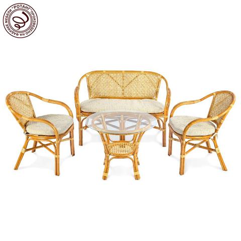 Комплект кофейный Ellena Light (стол+2 кресла+диван)