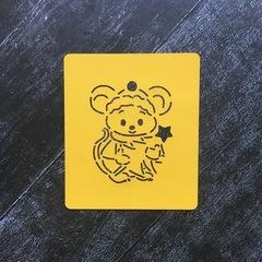 Мышка №13 с ёлочкой