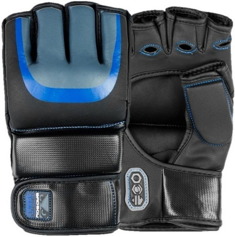 Перчатки для ММА Bad Boy Pro Series 3.0 Gel MMA Gloves - Blue&
