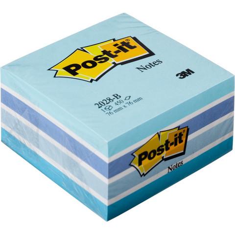 Стикеры Post-it Original 76х76 мм пастельные 5 цветов (1 блок, 450 листов)
