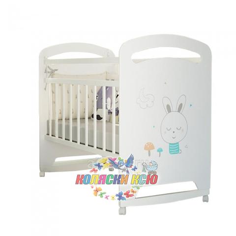 Кровать детская LUCY (колесо-качалка)