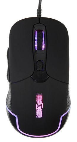 Мышь Оклик 965G RACER черный оптическая (2400dpi) USB (6but)