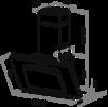 Вытяжка Maunfeld Tower C 60 нержавейка - схема