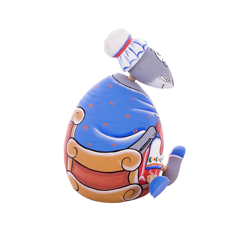 Деревянная игрушка-качалка