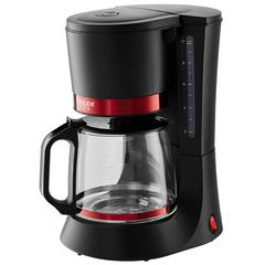 Кофеварка DELTA  LUX DL-8152 черная с красным