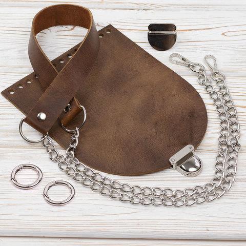 """Комплект для сумочки Орео """"Crazy Horse"""" №2"""