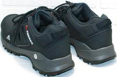 Кожаные кроссовки адидас темно синие Adidas Terrex A968-FT R.