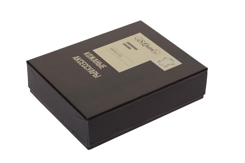 Обложка для паспорта S.Quire, натуральная воловья кожа, черный, гладкая, 9,9x13,4 см