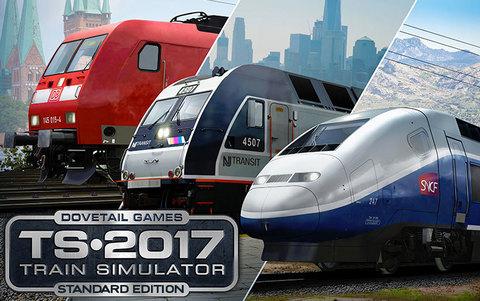Train Simulator 2017 Standard Edition (для ПК, цифровой ключ)