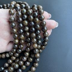 Бусины бронзит шар гладкий 8 мм