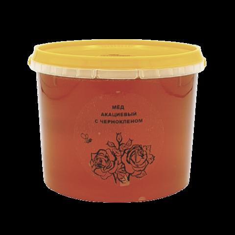 Мёд натуральный АКАЦИЕВЫЙ с ЧЕРНОКЛЕНОМ, 1 кг
