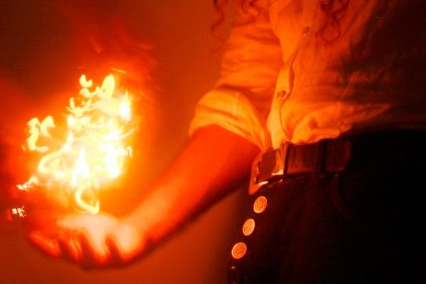 Пламя в ладонях