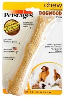 Petstages Игрушка для собак Petstages Dogwood палочка деревянная 18 см средняя 62b57c0e-94a7-11e3-ae60-001517e97967.jpg