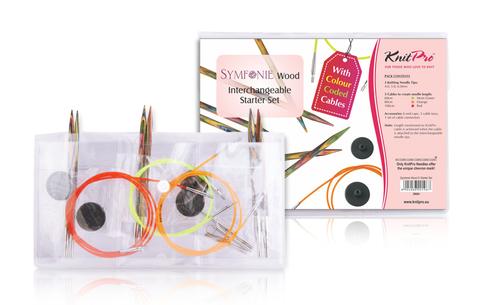 KnitPro Набор съемных спиц Symfonie Starter Set 20604