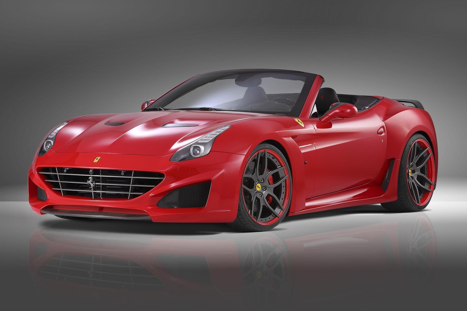 Карбоновая решетка радиатора Novitec Style для Ferrari California