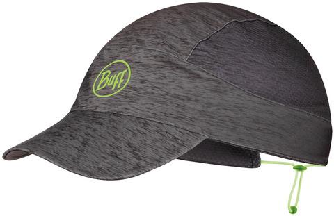 Спортивная кепка для бега Buff Pack Run Cap R-Grey HTR фото 1