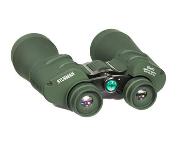 Бинокль Sturman 20x60 зелёный - фото 3