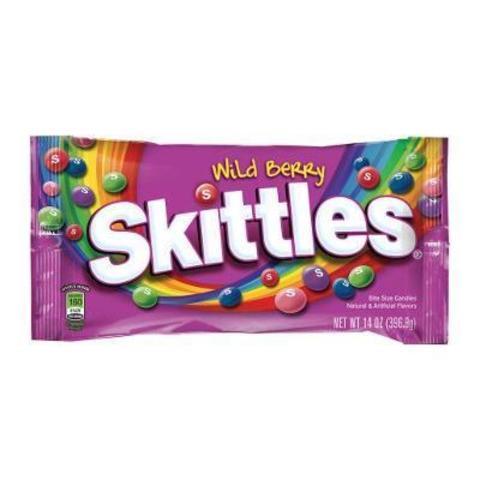 Skittles Wild berry Скитлс лесные ягоды 38 гр