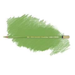 Карандаш художественный акварельный MONDELUZ, цвет 62 яблочный зеленый
