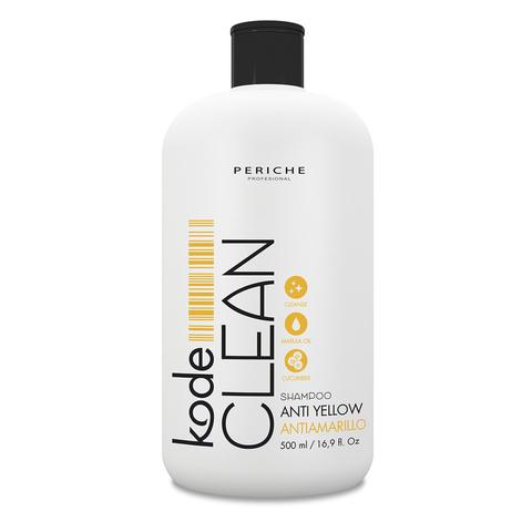 Шампунь для блондированных волос Kode Clean Anti-Yellow Periche