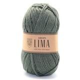Пряжа Drops Lima 7810  зеленый мох