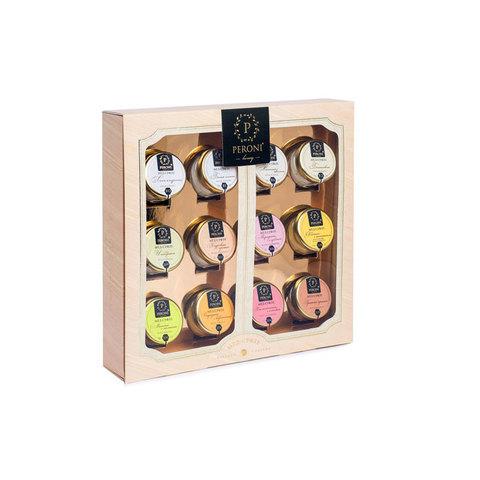 Мёд-суфле Коллекция вкусов 12 медов, артикул 320, производитель - Peroni Honey