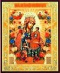 Икона Божией Матери Неувядаемый цвет 01