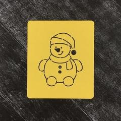 Новогодние персонажи / Снеговик
