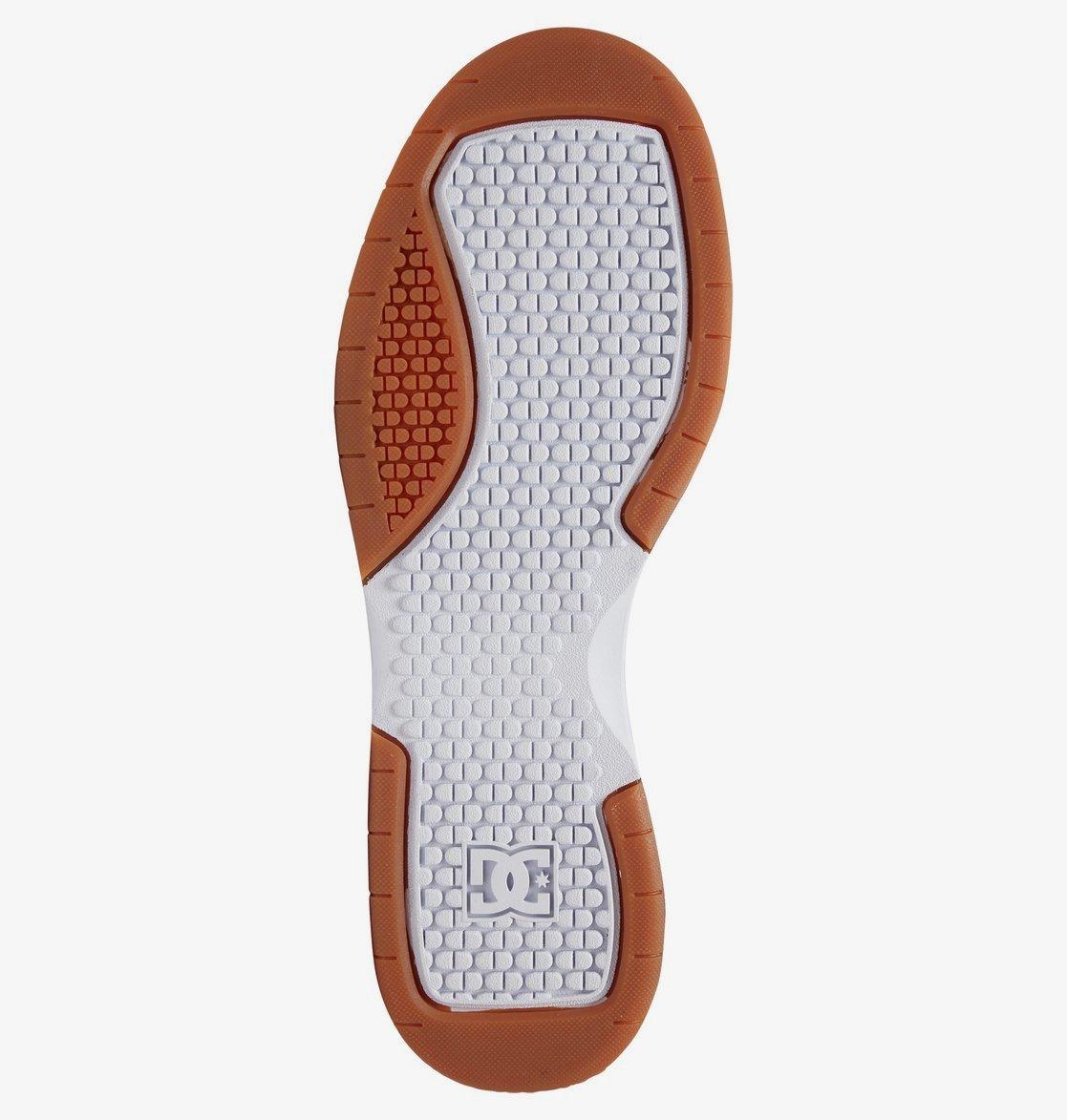 Кеды DC Shoes PENZA M SHOE HWG WHITE/WHITE/GUM