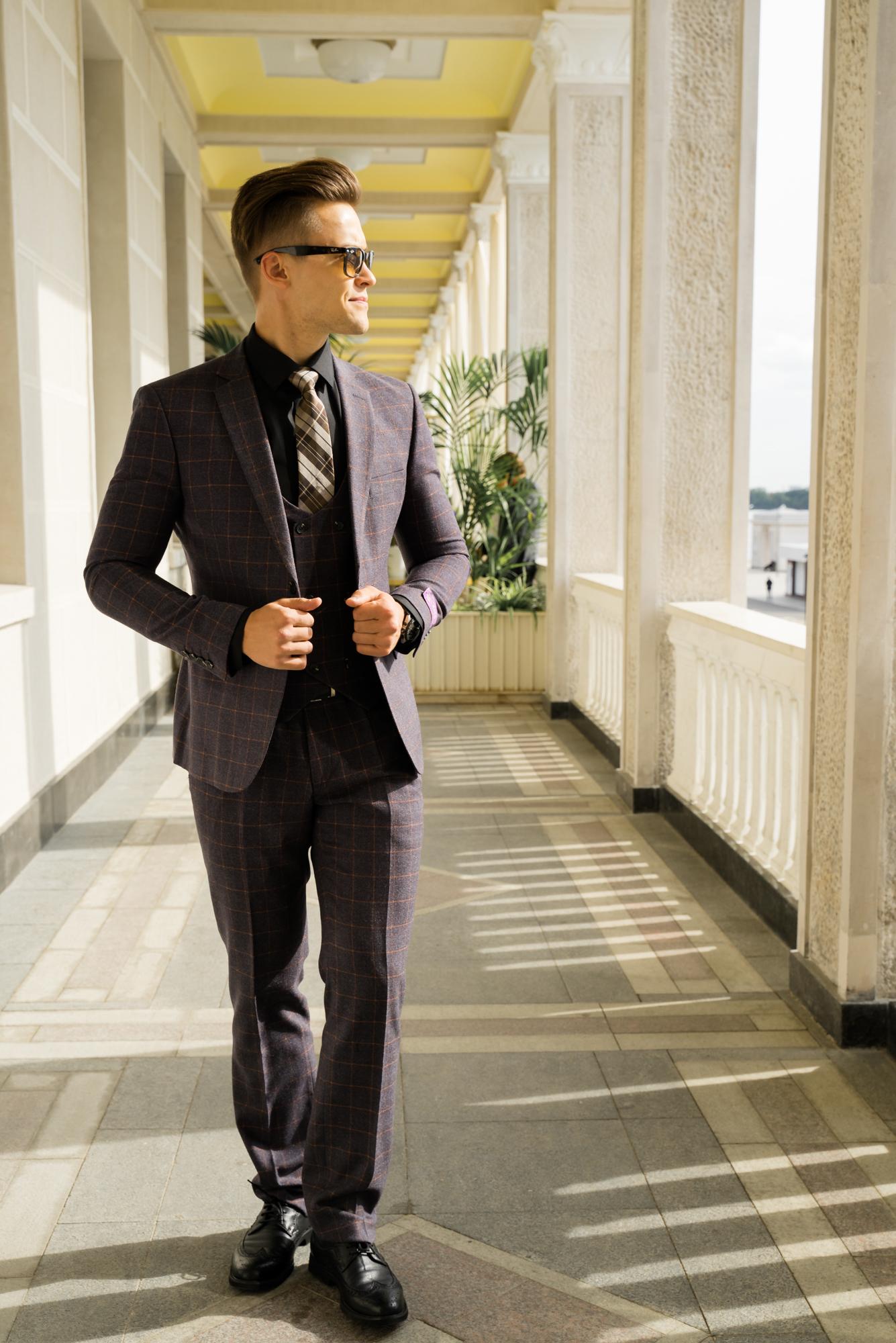 Мужские костюмы оптом Костюм мужской Antonio Rossi DSC04318.JPG