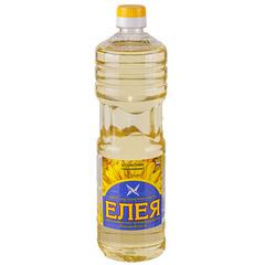 """Масло """"ЕЛЕЯ"""" подсолнечное  рафинированное 0,9 л"""