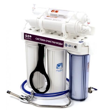 Водоочиститель PU 905W5-WF14-PR-EZ (5-ти ступенчатый, с UF-мембраной, c IRC умягчающий), R