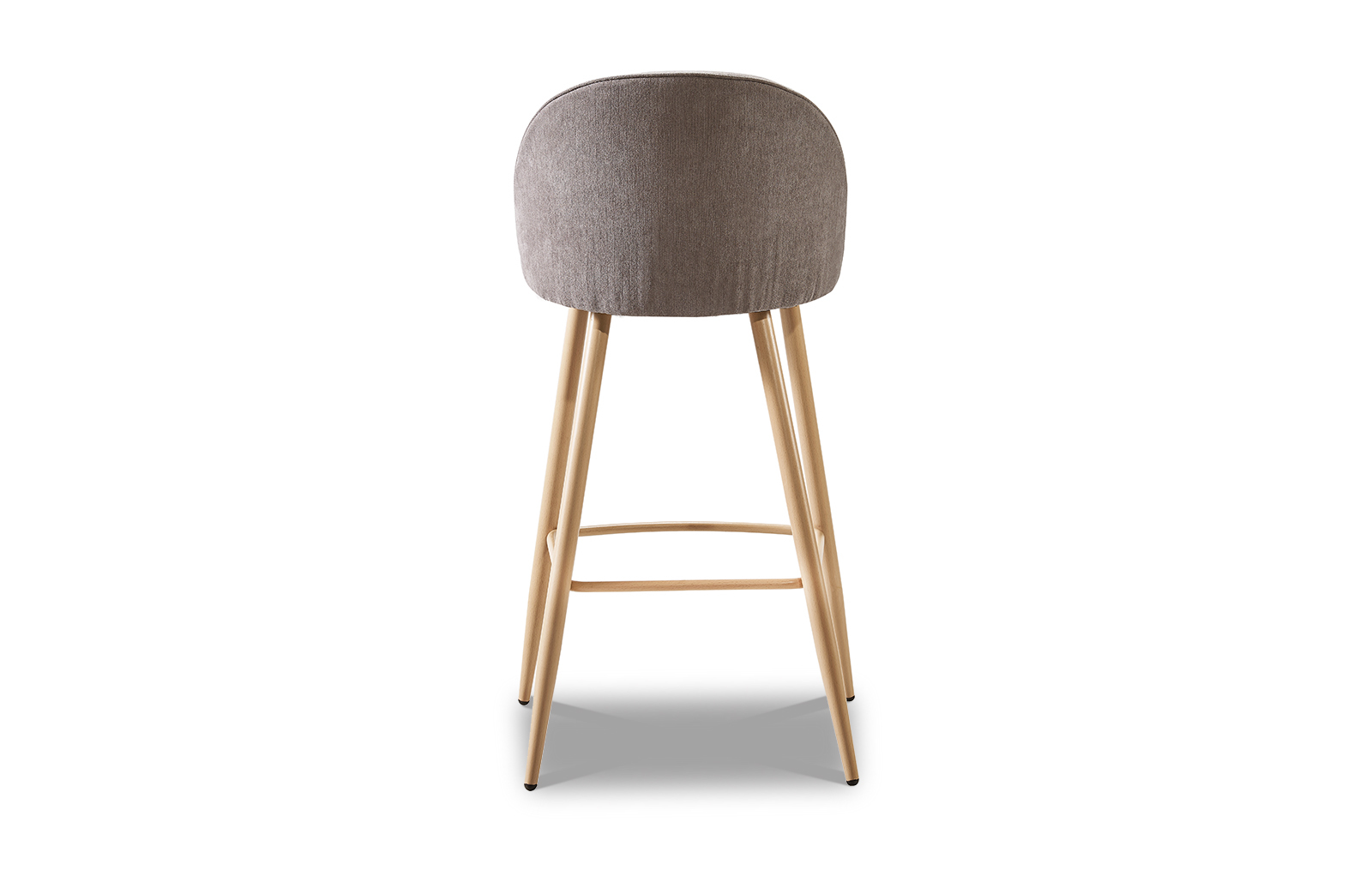 Барный стул ESF 373B dark бежевый темный/дерево