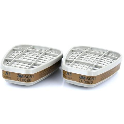 3М Фильтр для защиты от органич. паров и газов  6051