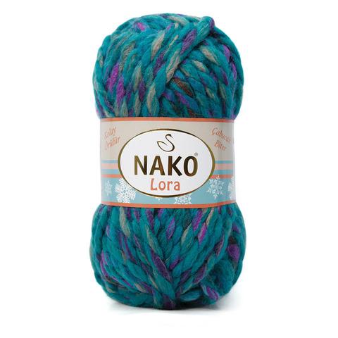 Lora Nako (20% шерсть, 80% aкрил, 100гр/35м)